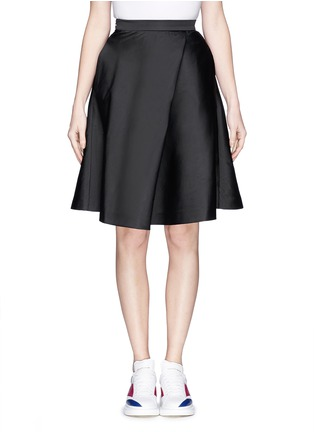 Main View - Click To Enlarge - MO&CO. EDITION 10 - Sateen flare skirt