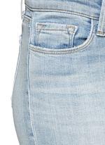 'Capri' rip knee jeans