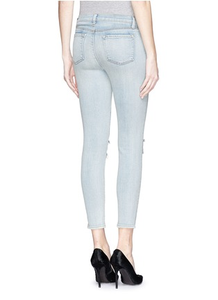 J Brand-'Capri' rip knee jeans