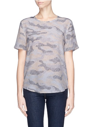 Main View - Click To Enlarge - Equipment - 'Riley' lace print camouflage T-shirt