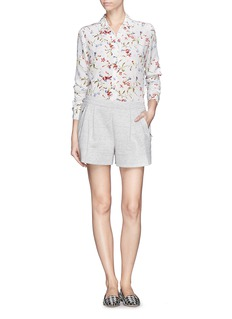 EQUIPMENT'Brett' floral print silk shirt
