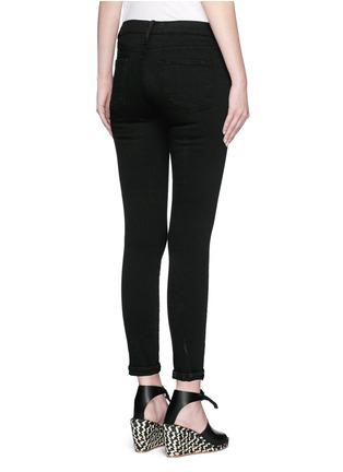 Back View - Click To Enlarge - Frame Denim - 'Le Skinny de Jeanne' stretch jeans