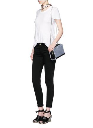 Figure View - Click To Enlarge - Frame Denim - 'Le Skinny de Jeanne' stretch jeans