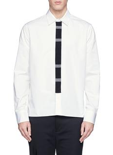 MARNIKnit placket trim shirt