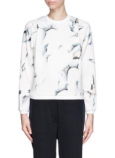 3.1 PHILLIP LIMPeeling paint print jersey sweatshirt