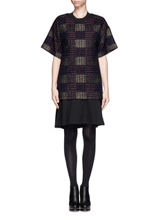 3.1 PHILLIP LIM Tweed flounce dress
