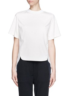 3.1 PHILLIP LIM Gathered back T-shirt