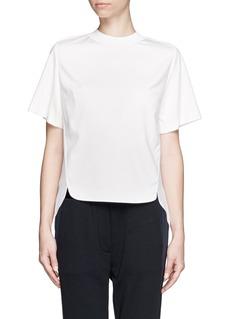 3.1 PHILLIP LIMGathered back T-shirt