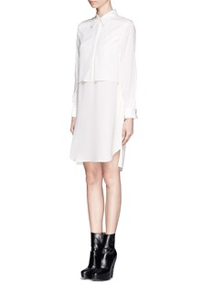 3.1 PHILLIP LIM Layered silk shirt dress