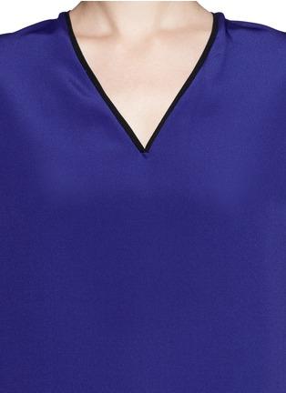 Detail View - Click To Enlarge - 3.1 Phillip Lim - Drape silk blouse