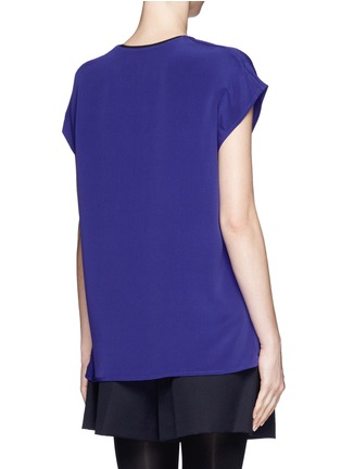 Back View - Click To Enlarge - 3.1 Phillip Lim - Drape silk blouse