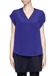 3.1 PHILLIP LIMDrape silk blouse
