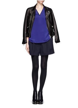 Figure View - Click To Enlarge - 3.1 Phillip Lim - Drape silk blouse
