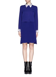 3.1 PHILLIP LIM Bead collar dress