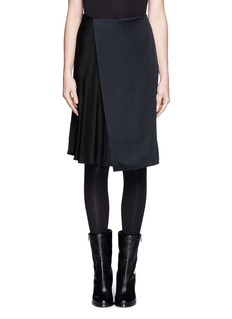 3.1 PHILLIP LIM Asymmetric silk skirt