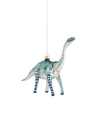 Main View - Click To Enlarge - CHRISTINA'S WORLD - Brontosaurus Christmas ornament