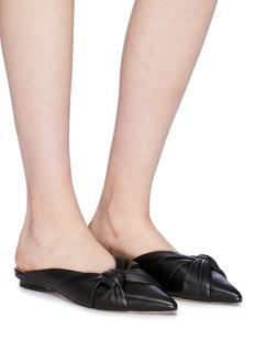 Pedder Red 'Welma' knot leather slides