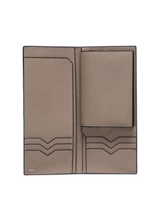 Valextra Leather travel document and passport holder