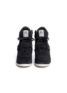 ASH'Bowie' suede wedge sneakers