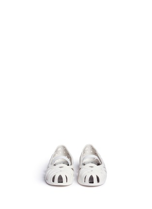 Figure View - Click To Enlarge - Melissa - x Jason Wu 'Jean' ribbon effect cutout toddler flats