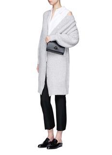MO&CO. EDITION 10Chunky rib knit long cardigan