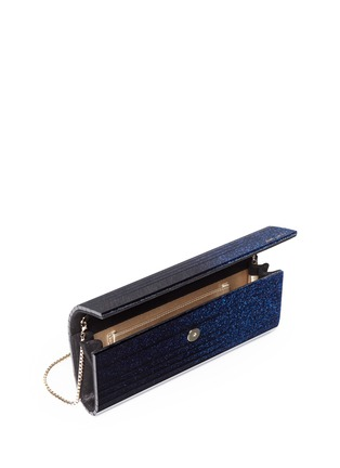 Detail View - Click To Enlarge - Jimmy Choo - 'Sweetie' degradé glitter acrylic clutch