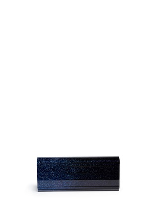 Back View - Click To Enlarge - Jimmy Choo - 'Sweetie' degradé glitter acrylic clutch