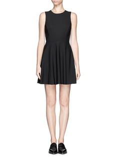 THEORY'Tillora' flare dress