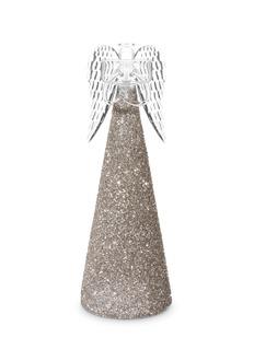 Shishi AsGlitter angel tealight holder