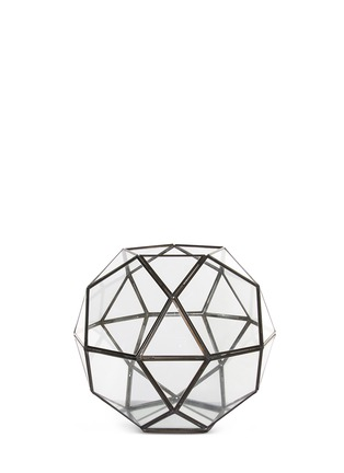 Main View - Click To Enlarge - Shishi As - Octagonal ball candle holder