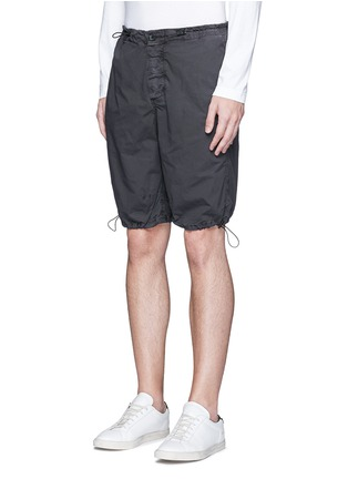 Front View - Click To Enlarge - James Perse - Stretch poplin mountaineering shorts