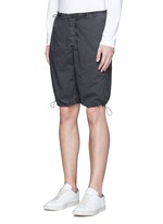 Stretch poplin mountaineering shorts