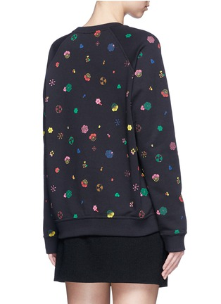 Back View - Click To Enlarge - KENZO - Tanami flower print French terry sweatshirt