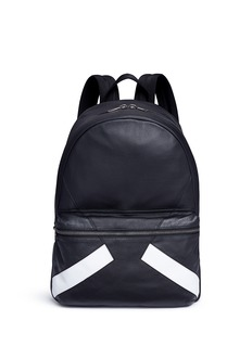 Neil Barrett 'Retro Modernist' leather backpack