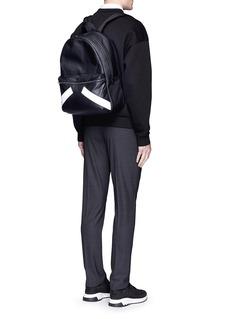 Neil Barrett'Retro Modernist' leather backpack
