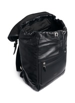 'Rider' leather backpack