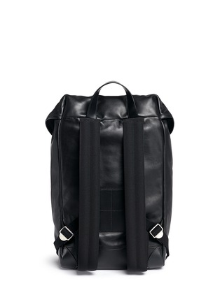 Back View - Click To Enlarge - Givenchy - 'Rider' leather backpack