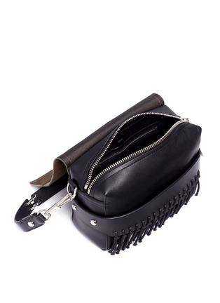 Detail View - Click To Enlarge - 3.1 Phillip Lim - 'Bianca' small fringe leather crossbody bag