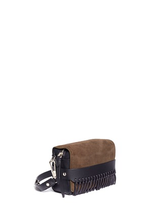 Front View - Click To Enlarge - 3.1 Phillip Lim - 'Bianca' small fringe leather crossbody bag