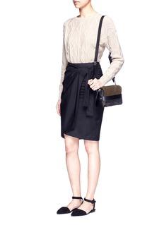 3.1 Phillip Lim'Bianca' small fringe leather crossbody bag