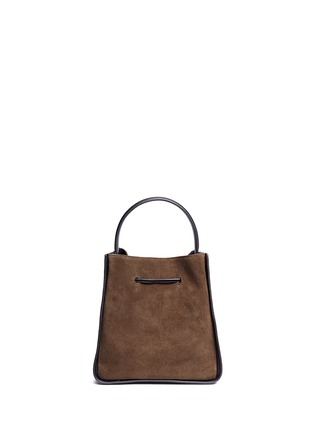 Back View - Click To Enlarge - 3.1 Phillip Lim - 'Soleil' small colourblock leather drawstring bucket bag