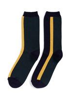 Colourblock stripe cotton socks