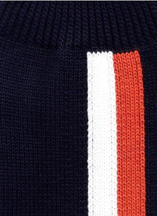 Detail View - Click To Enlarge - Sacai - Colourblock stripe cotton socks