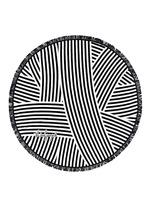 'The Paloma' fringed Roundie towel