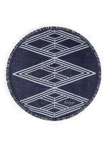 'The Santorini' fringed Roundie towel