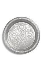Large engraved aluminium tray