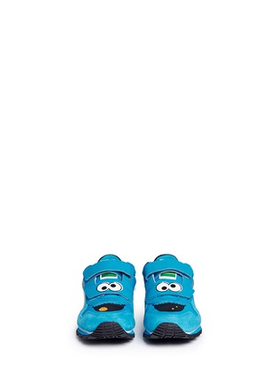 Figure View - Click To Enlarge - Puma - 'Sesame Street® Cookie Monster' suede toddler runner sneakers