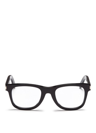 Main View - Click To Enlarge - SAINT LAURENT - 'SL 50/F' acetate square optical glasses