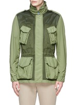 Mesh front M65 field jacket