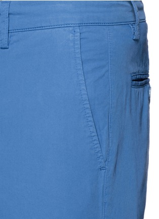 Detail View - Click To Enlarge - ASPESI - Cotton twill Bermuda shorts